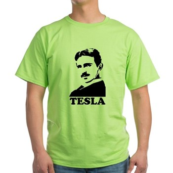 Tesla Green T-Shirt | Gifts For A Geek | Geek T-Shirts
