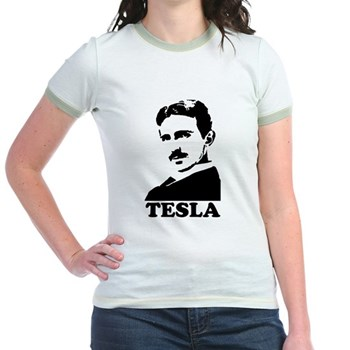 Tesla Jr. Ringer T-Shirt | Gifts For A Geek | Geek T-Shirts
