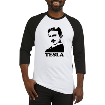 Tesla Baseball Jersey | Gifts For A Geek | Geek T-Shirts