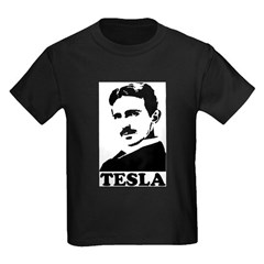 Tesla Kids Dark T-Shirt