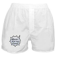 'Evil Laugh' Boxer Shorts