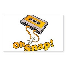 Oh Snap! Rectangle Sticker