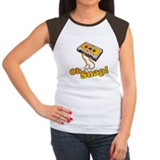 Oh Snap! Womens Cap Sleeve T-Shirt