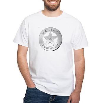 Deadwood Marshal White T-Shirt