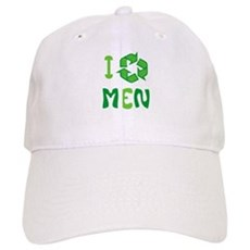 I Recycle Men Cap