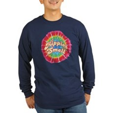 Hippies Smell Long Sleeve T-Shirt
