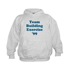 Team Building Exercise '99 Kids Hoodie