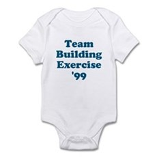 Team Building Exercise '99 Infant Bodysuit