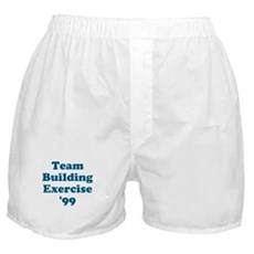 Team Building Exercise '99 Boxer Shorts