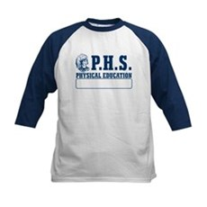 P.H.S. Physical Education Kids Baseball Jersey