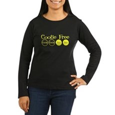 Cootie Free Womens Long Sleeve T-Shirt