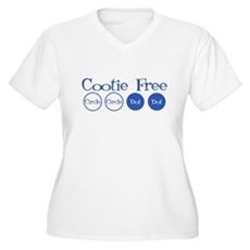 Cootie Free Plus Size V-Neck Shirt