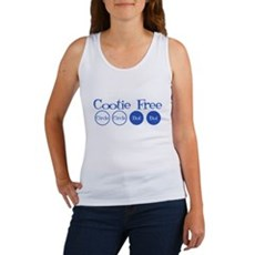 Cootie Free Womens Tank Top