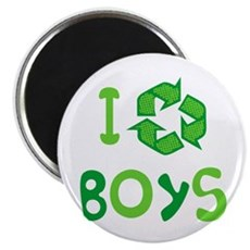 I Recycle Boys Magnet