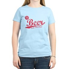 Beer, Cheaper Than Gas Womens Light T-Shirt