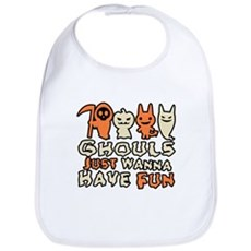 Ghouls Just Wanna Have Fun Bib