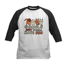 Ghouls Just Wanna Have Fun Kids Baseball Jersey