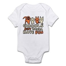Ghouls Just Wanna Have Fun Infant Bodysuit