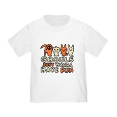 Ghouls Just Wanna Have Fun Toddler T-Shirt