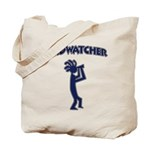 Kokopelli Birdwatcher Tote Bag