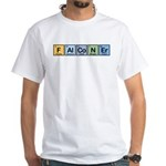 Elements of Falconry White T-Shirt