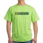 Elements of Falconry Green T-Shirt