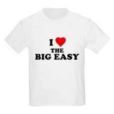 I Love [Heart] the Big Easy Kids T-Shirt