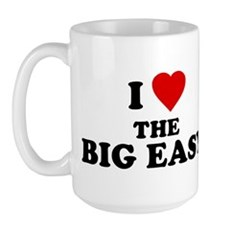 I Love [Heart] the Big Easy Large Mug