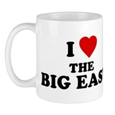 I Love [Heart] the Big Easy Mug