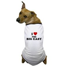 I Love [Heart] the Big Easy Dog T-Shirt