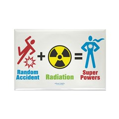 Super Powers Rectangle Magnet (10 pack)