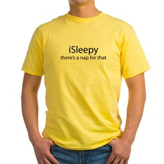 iSleepy Yellow T-Shirt