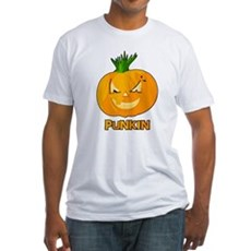 Punkin Fitted T-Shirt