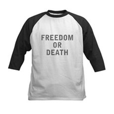 Freedom or Death Kids Baseball Jersey