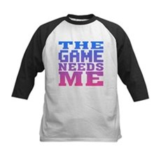 The Game Needs Me Kids Baseball Jersey