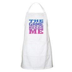The Game Needs Me BBQ Apron