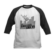 No One On The Corner Has Swag Kids Baseball Jersey
