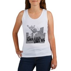 No One On The Corner Has Swag Womens Tank Top