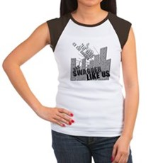 No One On The Corner Has Swag Womens Cap Sleeve T