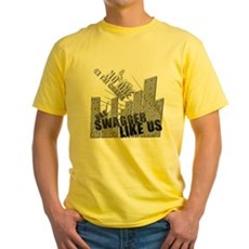 No One On The Corner Has Swag Yellow T-Shirt