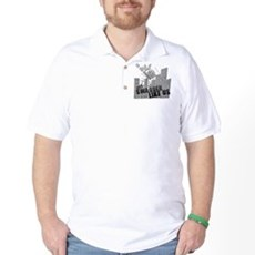 No One On The Corner Has Swag Golf Shirt