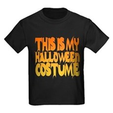 This is My Halloween Costume Kids T-Shirt