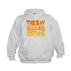 This is My Halloween Costume Kids Hoodie