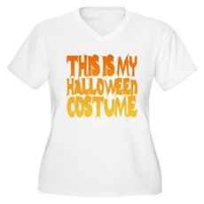 This is My Halloween Costume Womens Plus Size V-N