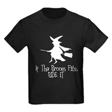 If the Broom Fits Kids T-Shirt