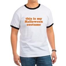 This is my Halloween costume Ringer T