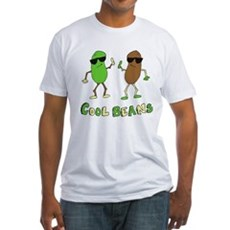 Cool Beans Fitted T-Shirt