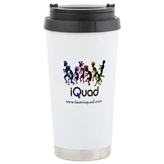 iQuad Team Stainless Steel Travel Mug