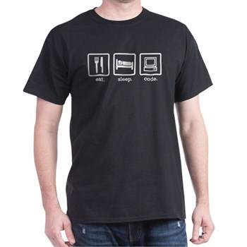 Eat. Sleep. Code. | Gifts For A Geek | Geek T-Shirts