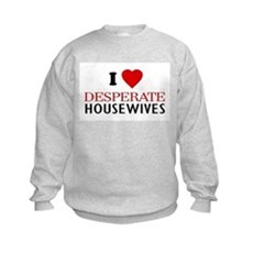 I Love Desperate Housewives Kids Sweatshirt